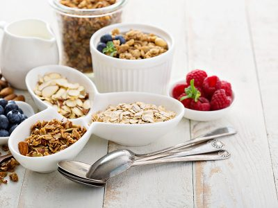 cereals and berries